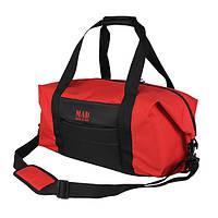 Сумка спортивная дорожная Easy Spirit red красная для зала и путешествий от MAD | born to win™