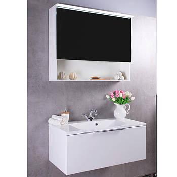 Зеркальный шкафчик Fancy Marble Okinava 900