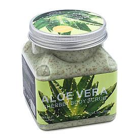 Скраб для тела  Wokali Aloe Vera Sherbet Body Scrub