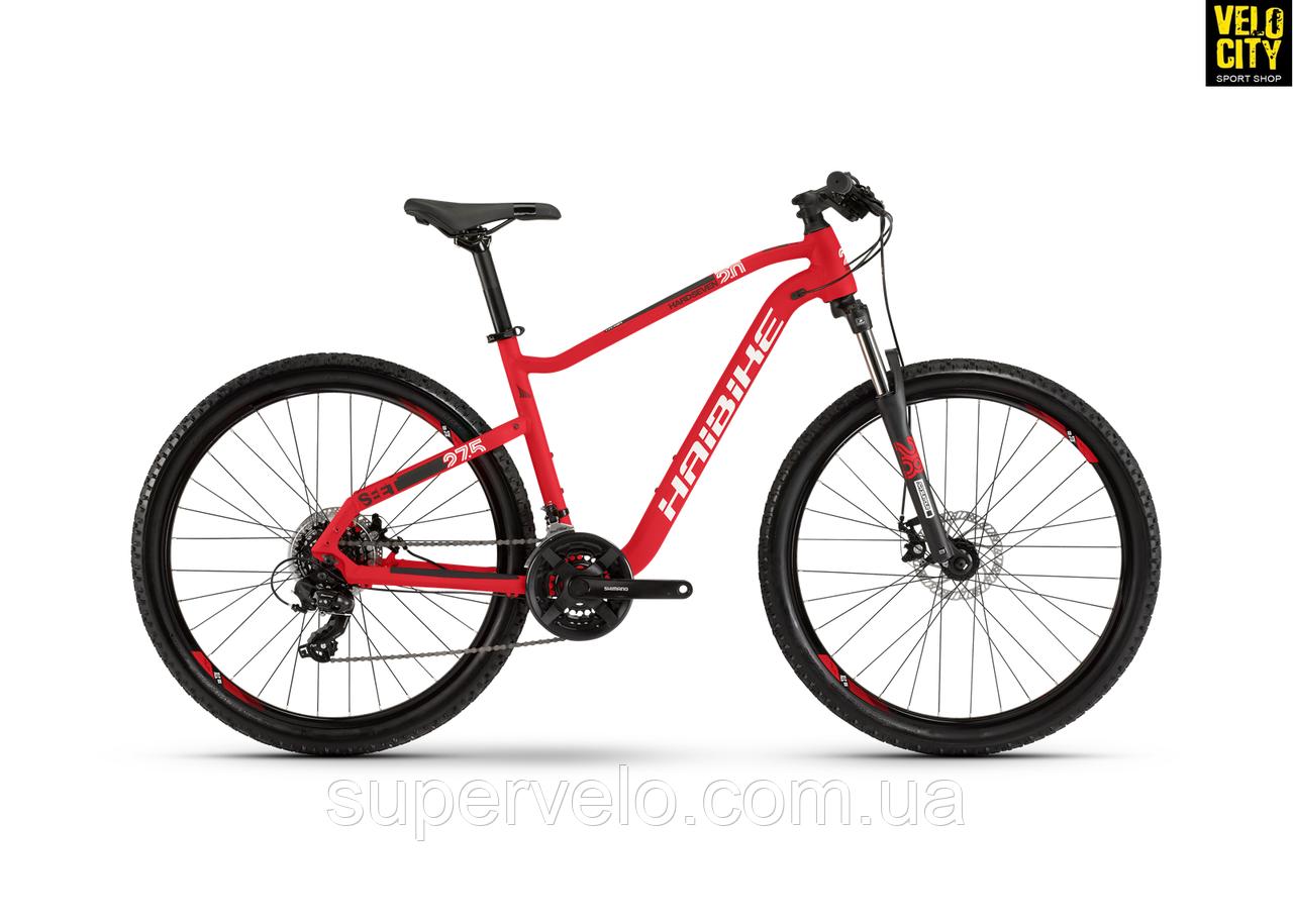"Велосипед Haibike Seet HardSeven 2.0 27,5"" 2020 красный, фото 1"