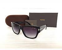 Женские солнцезащитные очки в стиле Tom Ford (0601) Lux