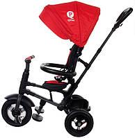 Велосипед триколісний Sun Baby QPlay Rito з ручкою Червоний (3072018074)