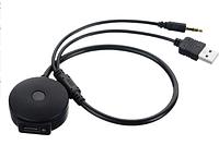 USB 3.5 мм AUX для Bluetooth аудио AUX и USB Женский Кабель-адаптер для bmw для Mini Cooper, фото 1