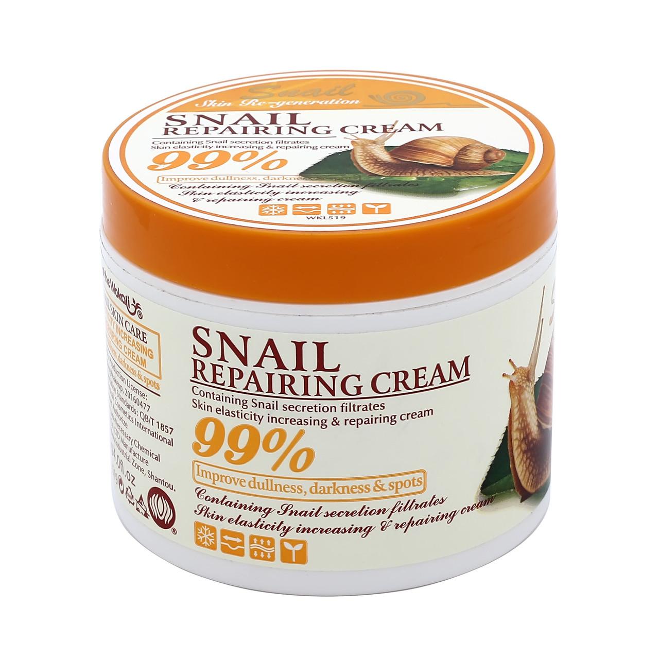Крем для лица Wokali Snail Repairing Cream