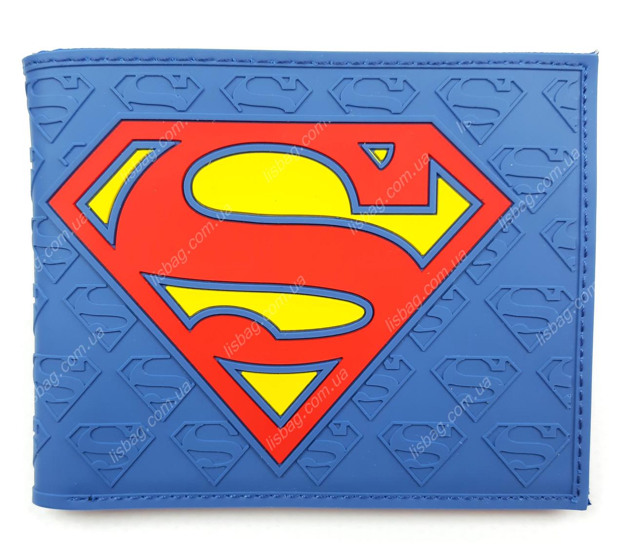 00faa3f5bb7a Кошелек Superman comics супермен Marevel, с отделением под мелочь ...