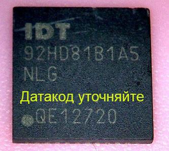 Микросхема IDT, 92hd81b1a5