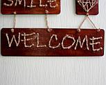 Панно стрінг-арт «Welcome» : rustic & country style / String Art, фото 8