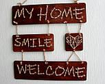 Панно стрінг-арт «Welcome» : rustic & country style / String Art, фото 9