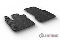 Резиновые коврики Gledring для Smart ForTwo (W453) 2014 (GR 0461)