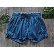 Шорты пляжные мужские синие с резинкой -183-05, фото 2