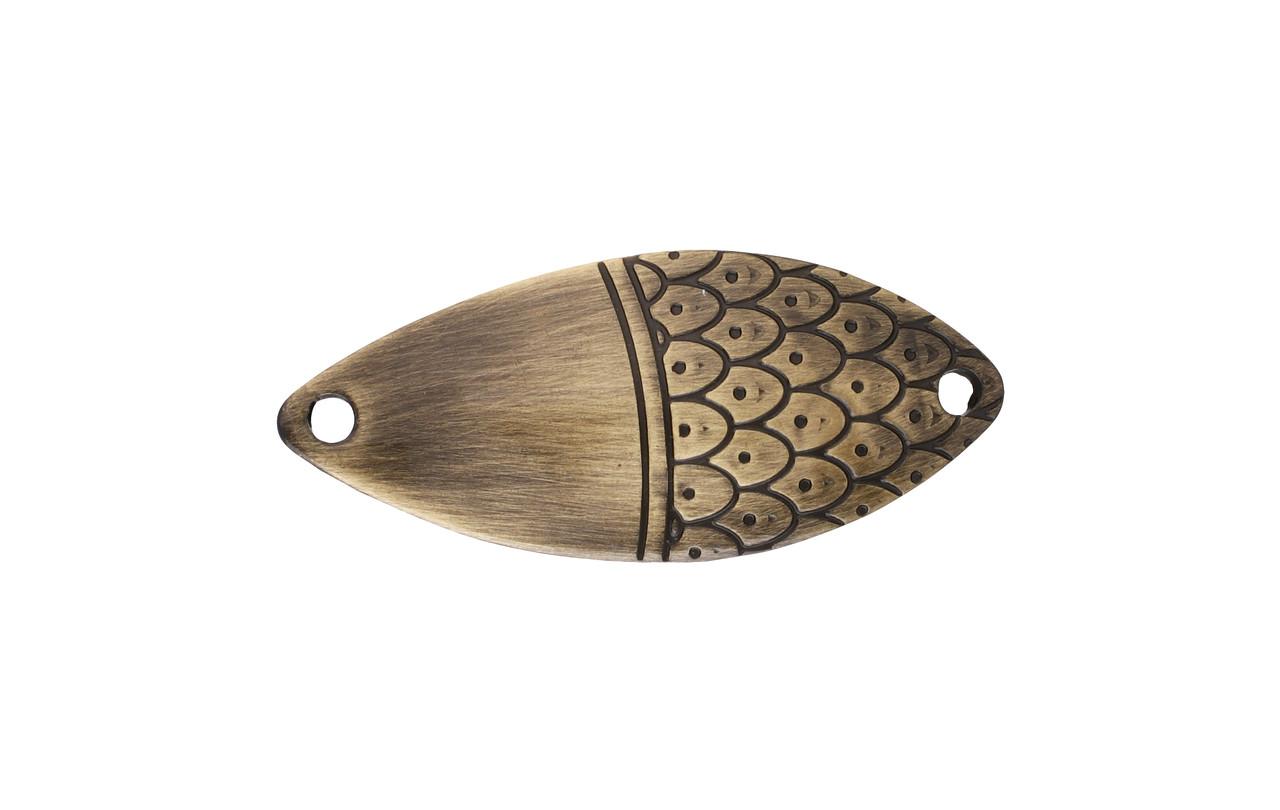Блесна-колебалка Mikado Roach № 4  16гр 6.8см old gold