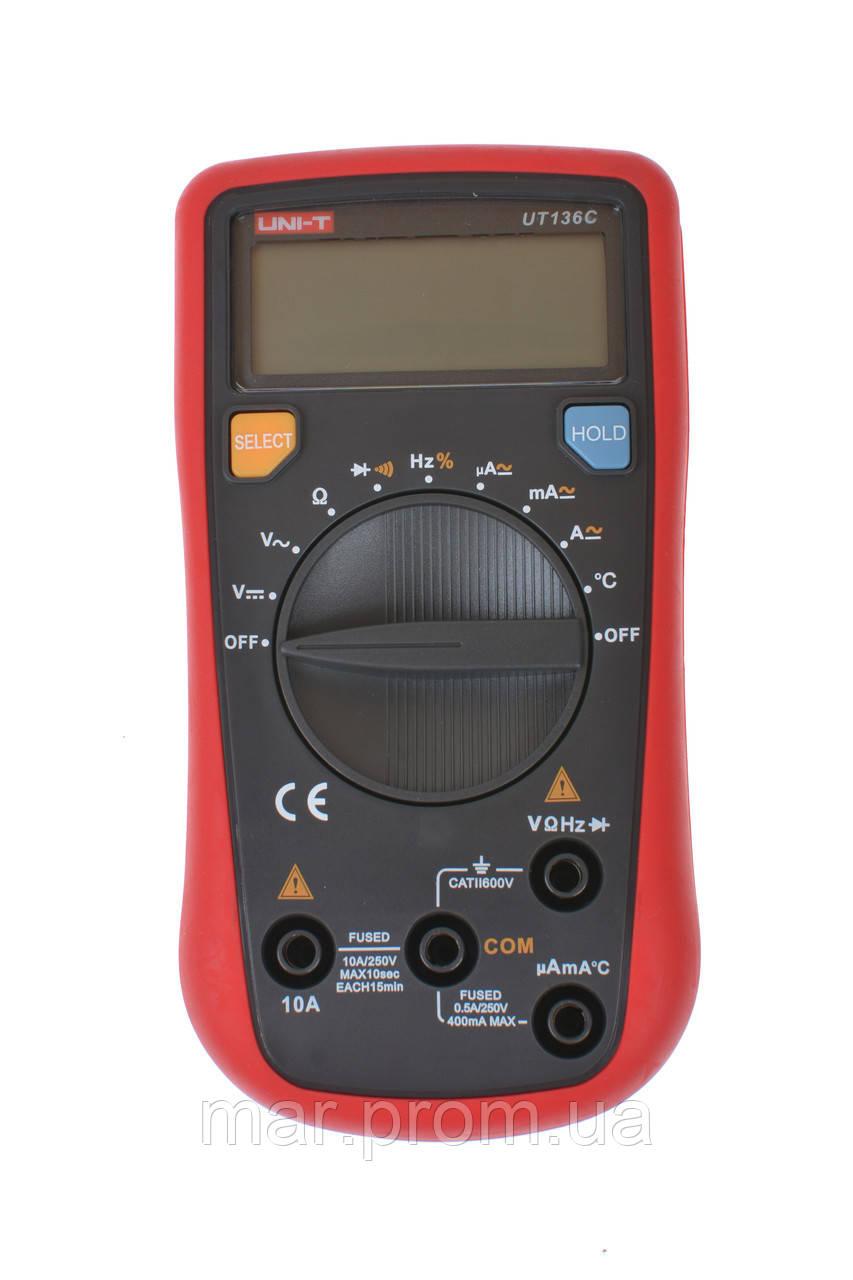 Цифровой мультиметр UNI-T UT-136С