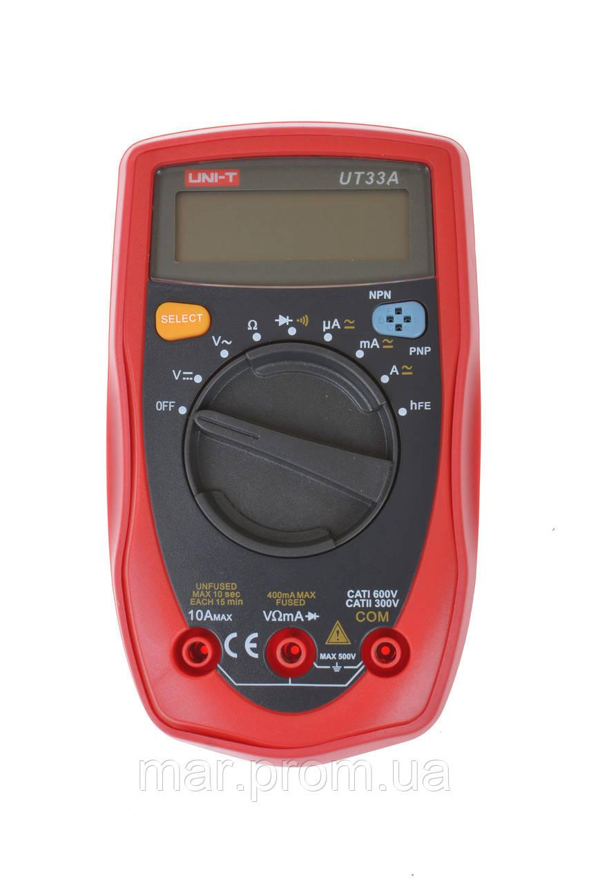 Цифровой мультиметр UNI-T UT-33A