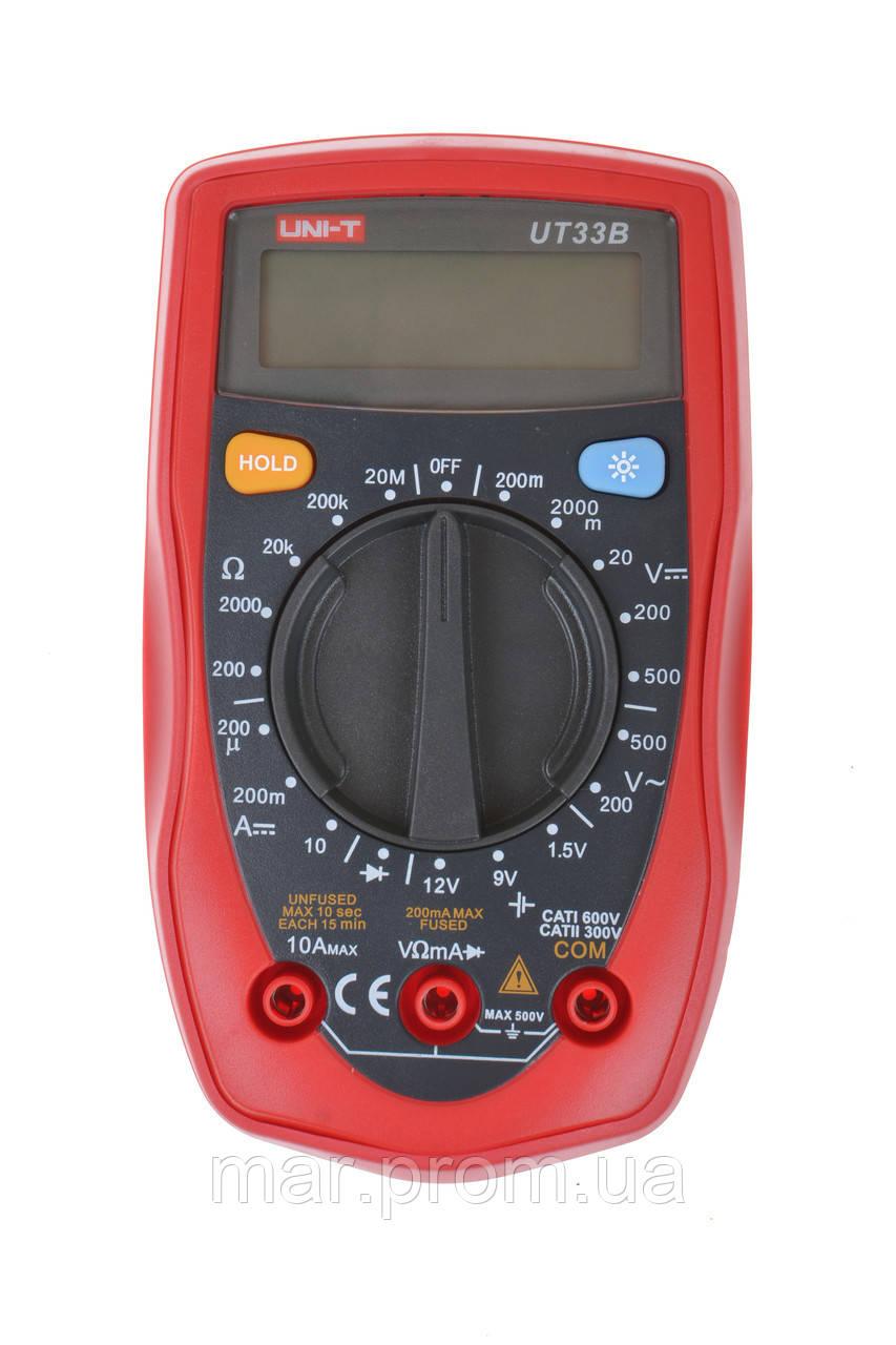 Цифровой мультиметр UNI-T UT-33B