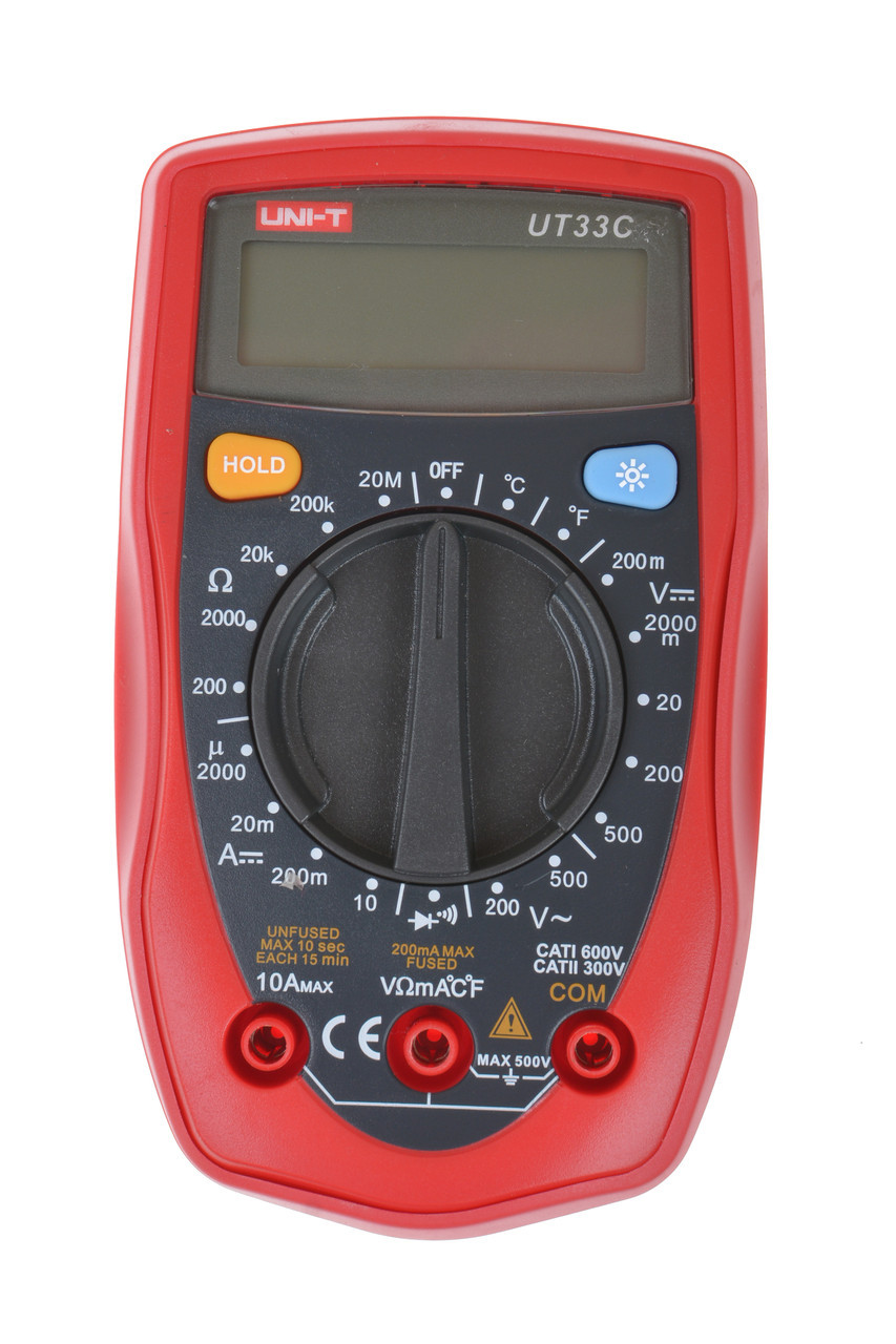 Цифровой мультиметр UNI-T UT-33C (+ термопара)