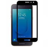 Защитное стекло Walker Full Glue для Samsung J260 Galaxy J2 Core Черный
