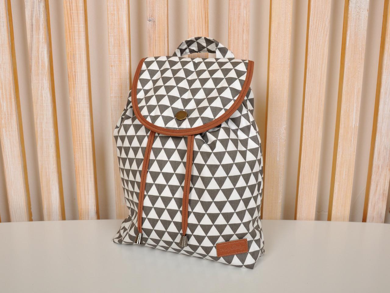 """Детский рюкзак """"Треугольники"""""""