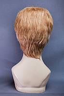 Натуральный парик №8,цвет мелирование русый, песочный блонд