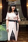 Элегантное женское платье с вышивкой - модель 2019  - Код пл-281, фото 5