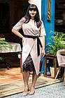 Элегантное женское платье с вышивкой - модель 2019  - Код пл-281, фото 7