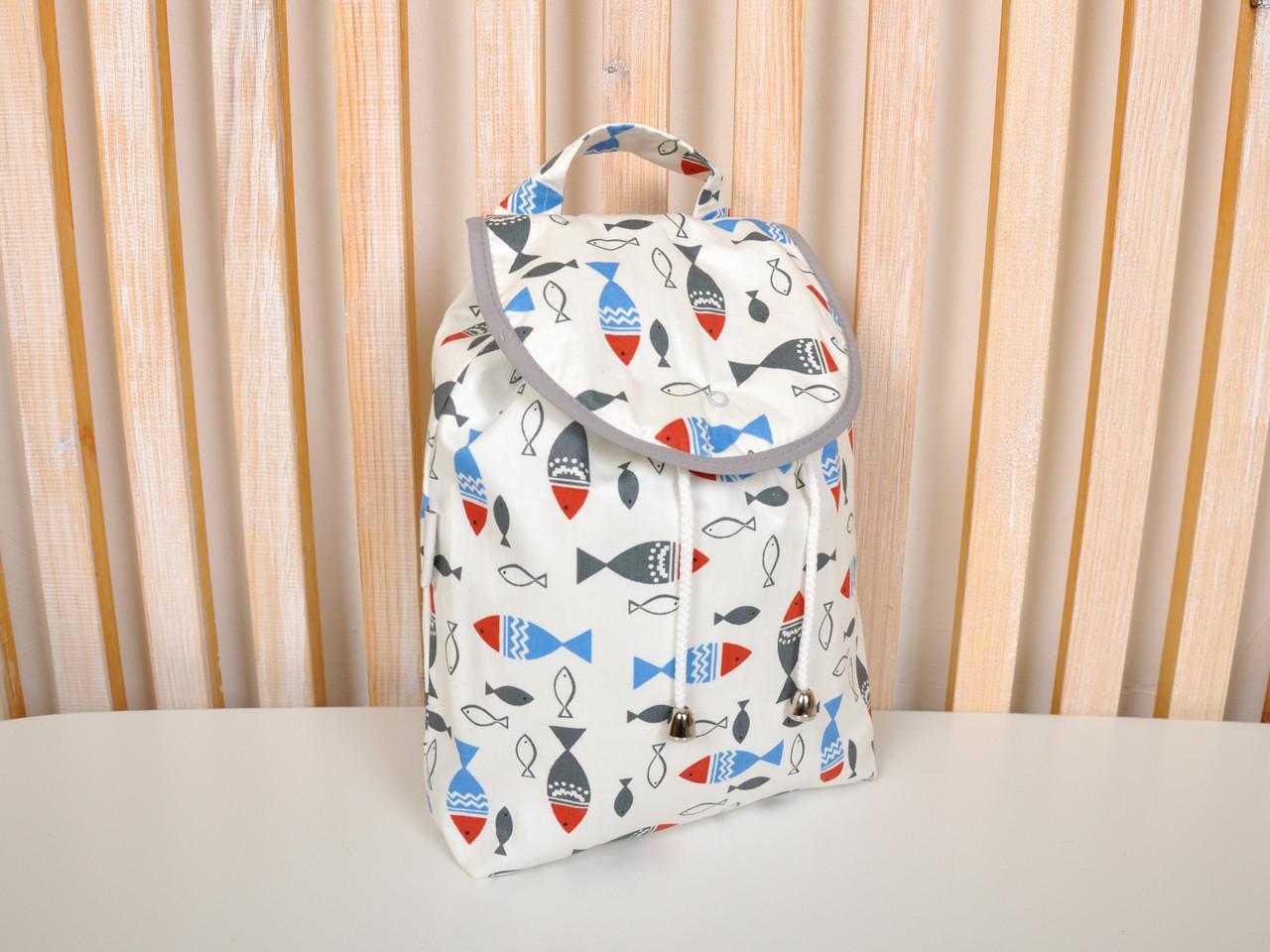 "Детский рюкзак ""Рыбки"""