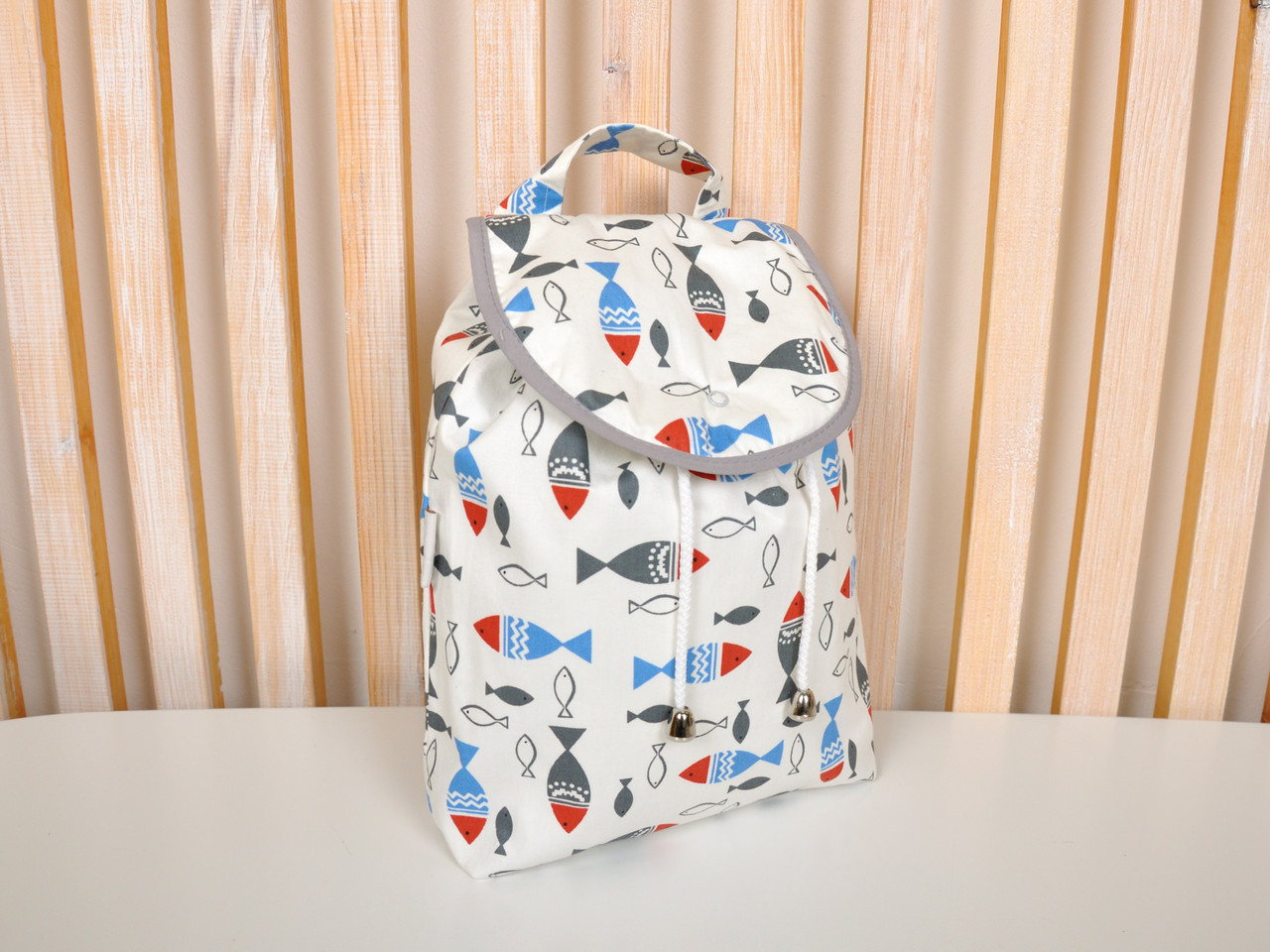 "Дитячий рюкзак ""Рибки"""