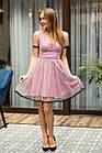Праздничное платье в горошек для девушек - 2019  - Код пл-563, фото 2