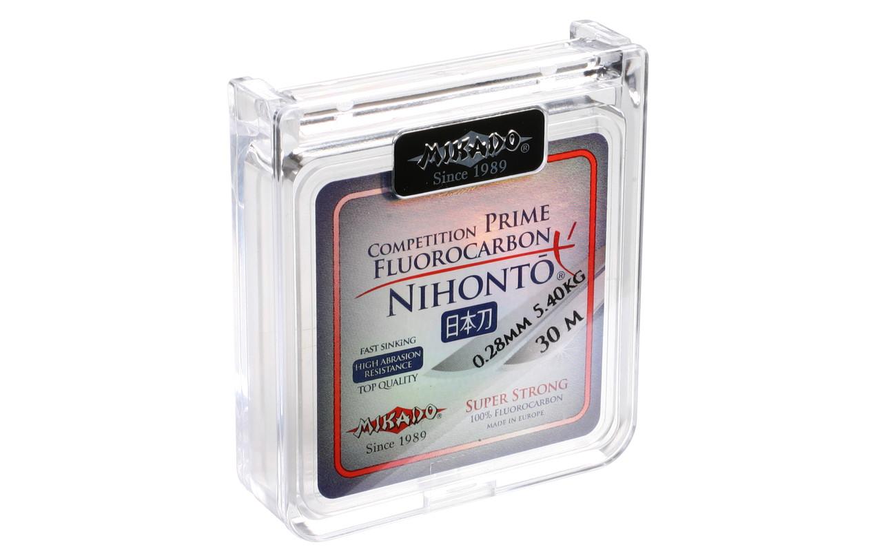 Леска Mikado Nihonto Fluorocarbon Prime 10м 0,14мм 1,45кг (прозрачный)