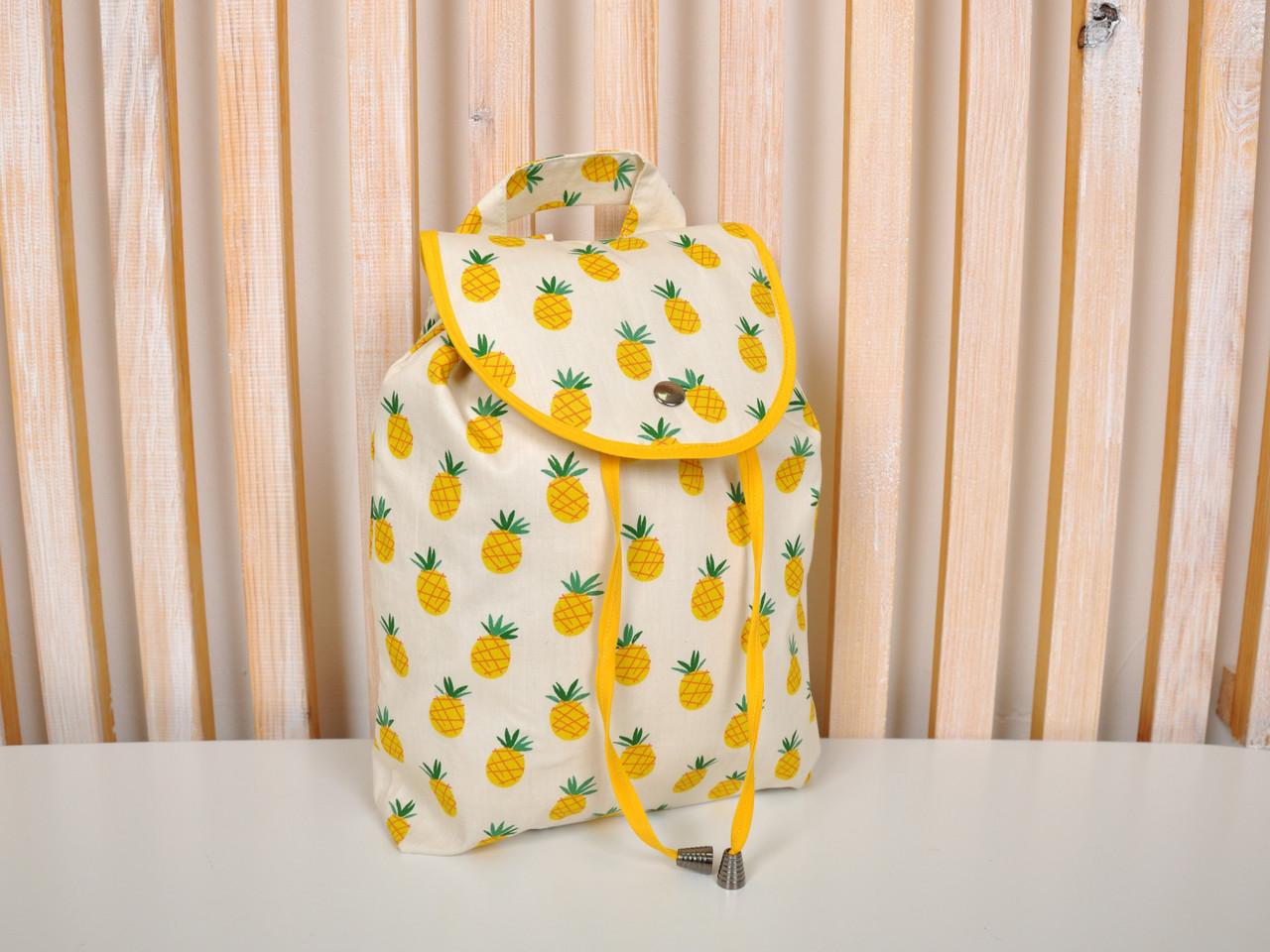 """Дитячий рюкзак """"Ананаси"""""""