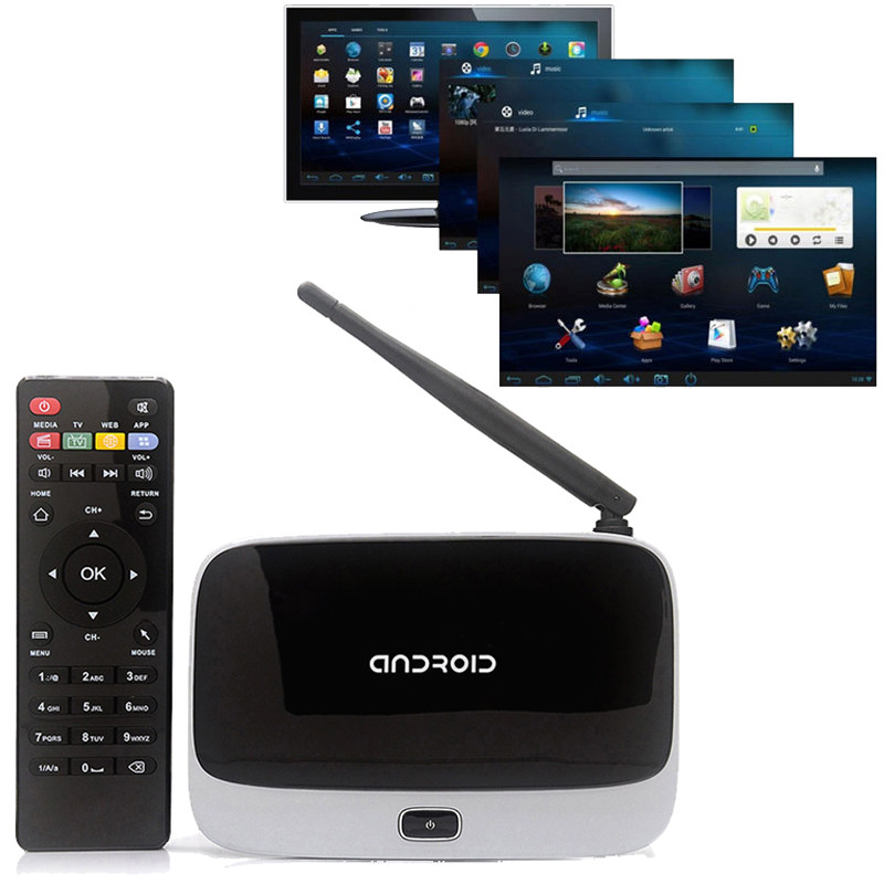 Smart TV Box 918 Quad Core/1GB/8GB 4 ядра