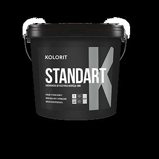 Фасадна декоративна штукатурка «короїд» Kolorit Standart K 25кг