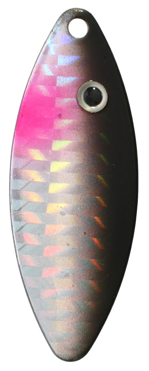 Блешня-вертушка Mikado Stream № 4 14гр silver/61 HOLO