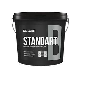 Фасадна декоративна штукатурка «баранець» Kolorit Standart B 15кг