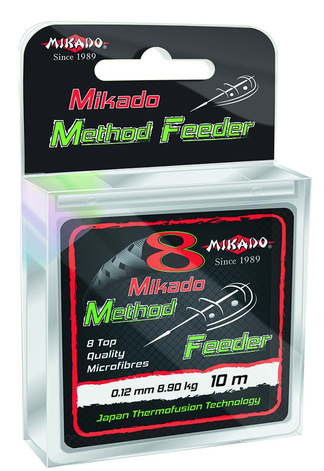 Шнур Mikado 8 Octa Method Feeder Braid 10м 0,12мм 8,9кг brown