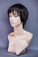 Натуральный парик №8, цвет черный