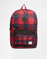 Рюкзак Herschel Supply - Heritage Plaid/Black/Red Classic 21L