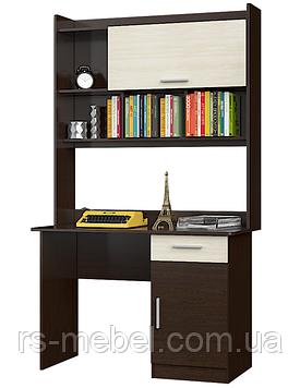 Стол письменный Школьник-3 с надстройкой (Эверест)