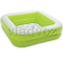 Детский надувной бассейн 57100 intex салатовый, фото 2