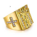 Роскошное кольцо перстень, фото 3