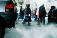 Забруднення повітря руйнує психіку.