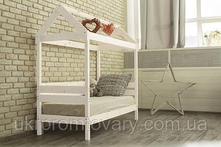 Дитяче ліжко-будиночок Вінгс в Києві, натуральне дерево, якість, фото 2