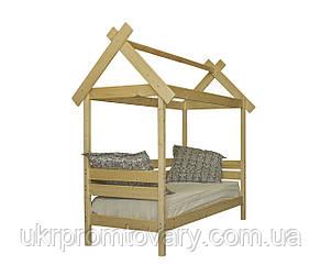 Детская кровать-домик Избушка в Киеве, натуральное дерево, качество, фото 2