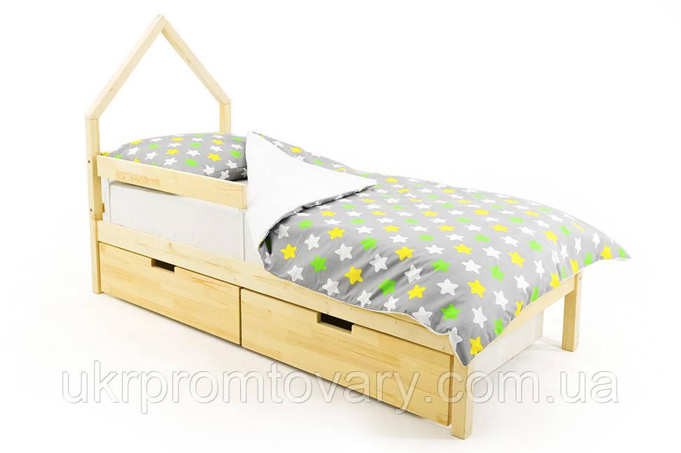 Дитяче ліжко-будиночок міні Skogen натура в Києві, натуральне дерево, якість