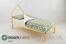Дитяче ліжко-будиночок міні Skogen натура в Києві, натуральне дерево, якість, фото 3