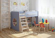 Детская кровать Легенда 22.1  в Киеве, натуральное дерево, качество, фото 2