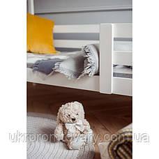 Кровать-домик №3, цвет белый, спальное место 70 x 160 см в Киеве, натуральное дерево, качество, фото 3