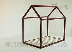 Детская кровать-домик Кровать Дрима Base 800 Х 1600 мм [Коричневый Ral 8011] в Киеве, натуральное дерево, качество