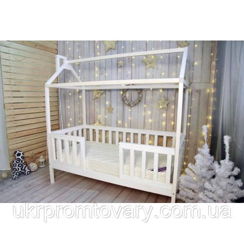 Детская кровать домик «Лунд» в Киеве, натуральное дерево, качество