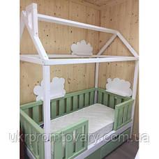 Детская кровать домик «Лунд» в Киеве, натуральное дерево, качество, фото 3