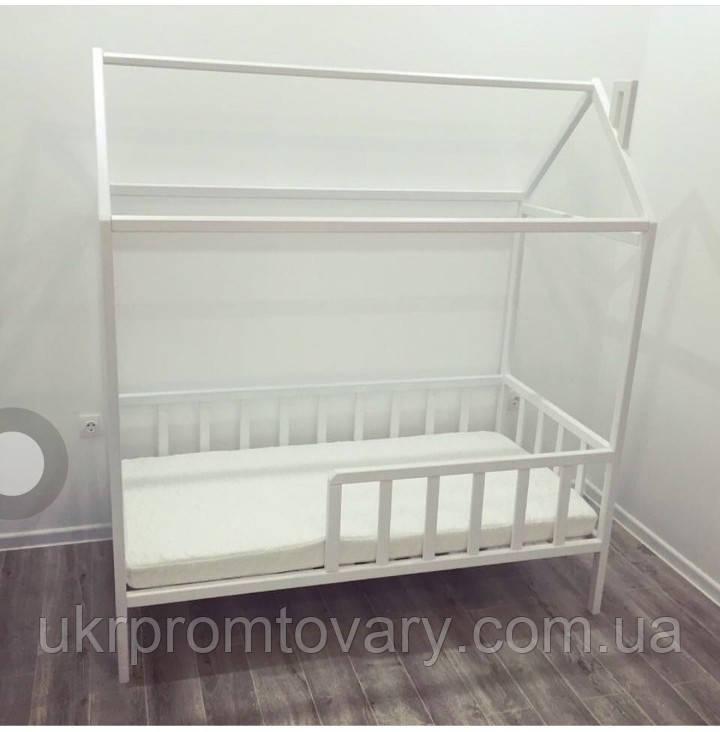Кровать Dreams Домик 160*80 см для дошкольников без ящиков (венге) в Киеве, натуральное дерево, качество